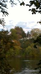 2010-10-21_18-19-31_532 (tterrarep) Tags: autumn fall evening fullmoon gloaming laurelhillcemetery