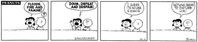 Peanuts Minus Snoopy with Lucy and Charlie Brown