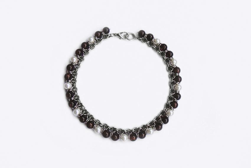 edeaaa5505c0 ISIS Caramelo (sanae ogura) Tags  glass necklace beads handmade rings collar  vidrio jewerly