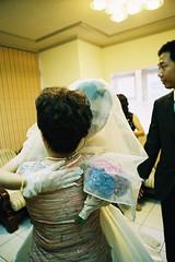 Wedding (lsshno1) Tags: wedding portrait people film eos fuji taiwan 200 tamsui xtra 1v