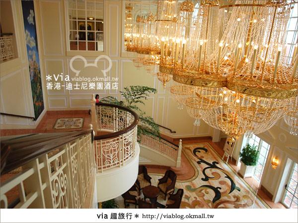 【香港住宿】跟著via玩香港(4)~迪士尼樂園酒店(外觀、房間篇)23