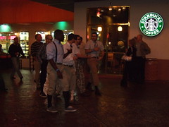 Costume: LDS Missionaries (demartinyh) Tags: fujif40