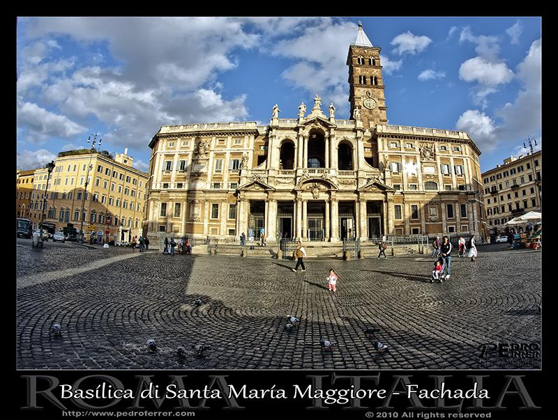 Roma - Piazza y Basílica di Santa María Maggiore