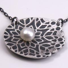 Snowburst pendant (mikeandmaryjewelry) Tags: necklace pendant sterlingsilver winter2010 mikeandmaryjewelry