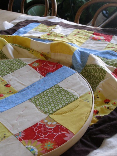 Jonah's quilt in progress