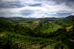 There is a voice in the distance that is calling me (* Ahmad Kavousian *) Tags: italy clouds landscape ahmad faenza highmountains kavousian ahmadkavousian greenplains ipcselection