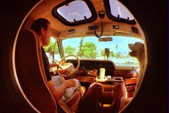 Fisheye In Van