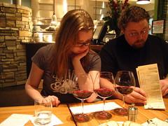 Jenny Drinking Pinot