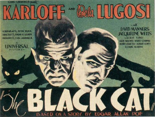 film poster: The Black Cat