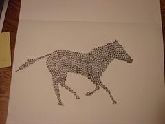 "(6 8""-10) Tags: horse artwork kanji"
