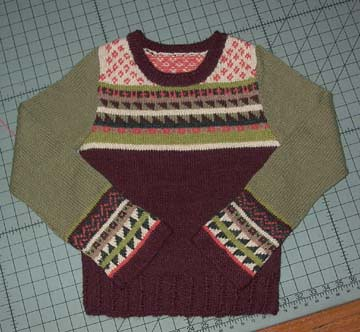 fairisle finished