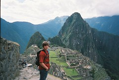 Tyler on top the Mountian ~ Machu Picchu