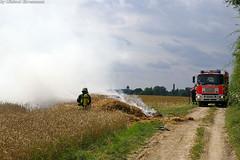 Strohhaufenbrand Igstadt 17.07.07