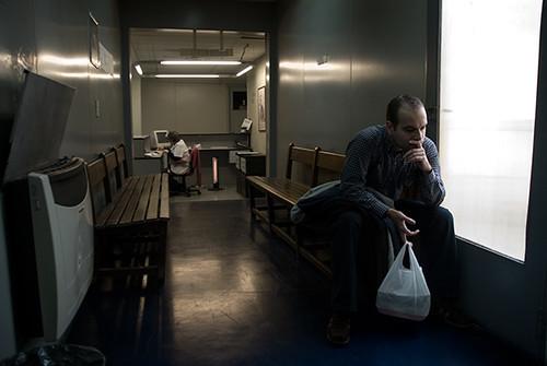 Espera en el Centro Médico