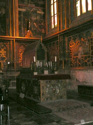 St. Wenceslas chapel in St. Vitus' Church