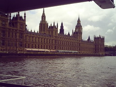 Parliament (popcornvii) Tags: old windows fish building london clock river prime boat big ship time ben jobs spears many side watch large craft parliament bigben steam hour points huge second government law gigantic left job riverthames crain minister hover minute the