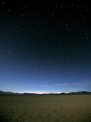Twilight Twinkle (jurvetson) Tags: longexposure sunset stars star twilight searchthebest space nevada playa location burningman astronomy universe espace desolation toiles toile blackrockdesert astronomie univers longueexposition longuepose aplusphoto rocketmavericks