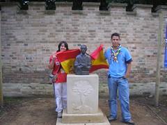 009 Sara en Brownsea -Los españoles