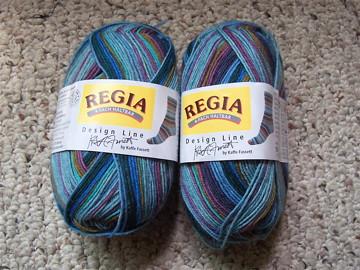 Kaffe Fassett sock yarn