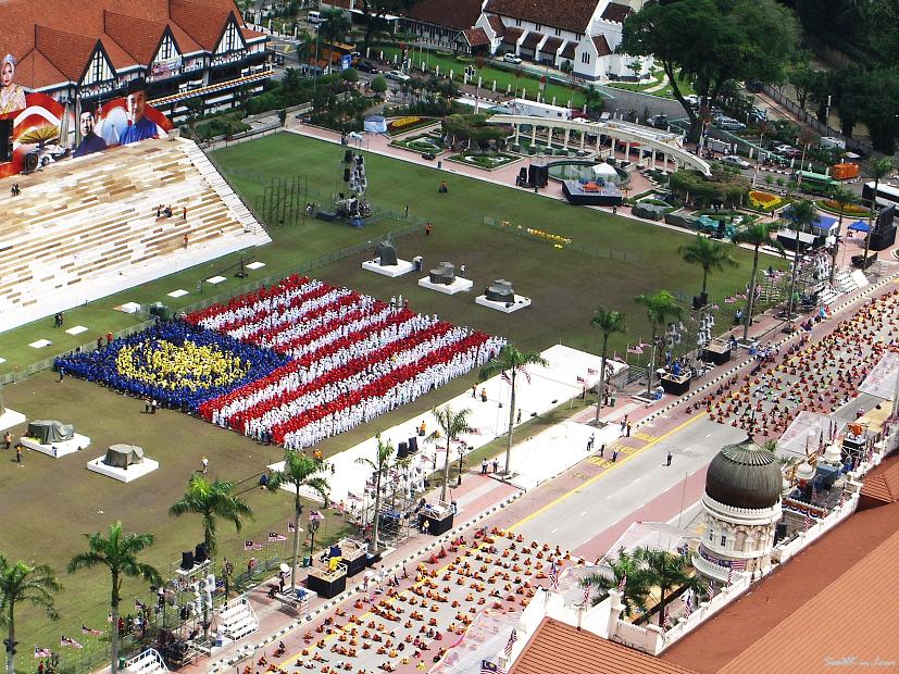 Man Made Malaysia Flag