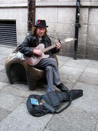 Dublin Busker