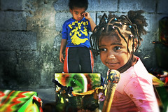 Sweet and Sour drummers... (carf) Tags: girls boy brazil music playing boys girl brasil kids children drums hope kid community education support child play sad sweet ryan esperana social cheeky drumstick educational hummingbirds drumming sour emotions grumpy development prevention secondgeneration mundouno allani
