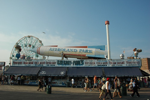 Gregory & Paul's, Boardwalk, Astroland Park