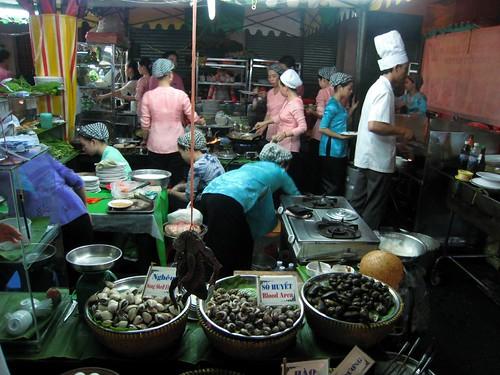 The kitchen at Hai Lua