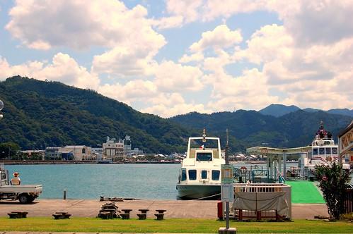 Salida del Ferry