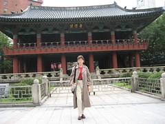 Me at Jonggak Bell