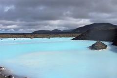 Blue Lagoon (Bláa Lónið) in Grindavik, Iceland