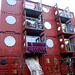 Homes built from ships containers.