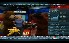 Mad Money & CNBC - Emmanuel Goes to Dinosaur Land (GladiolaBean) Tags: nbc productplacement branding 30rock cnbc madmoney brandintegration
