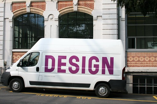 The design van