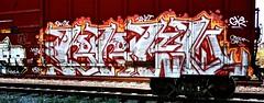 IMG_5536 (mightyquinninwky) Tags: railroad graffiti tag graf tracks railway tags tagged railcar rails boxcar graff graphiti freight trainart fr8 railart boxcarart freightart taggedboxcar paintedboxcar paintedrailcar taggedrailcar