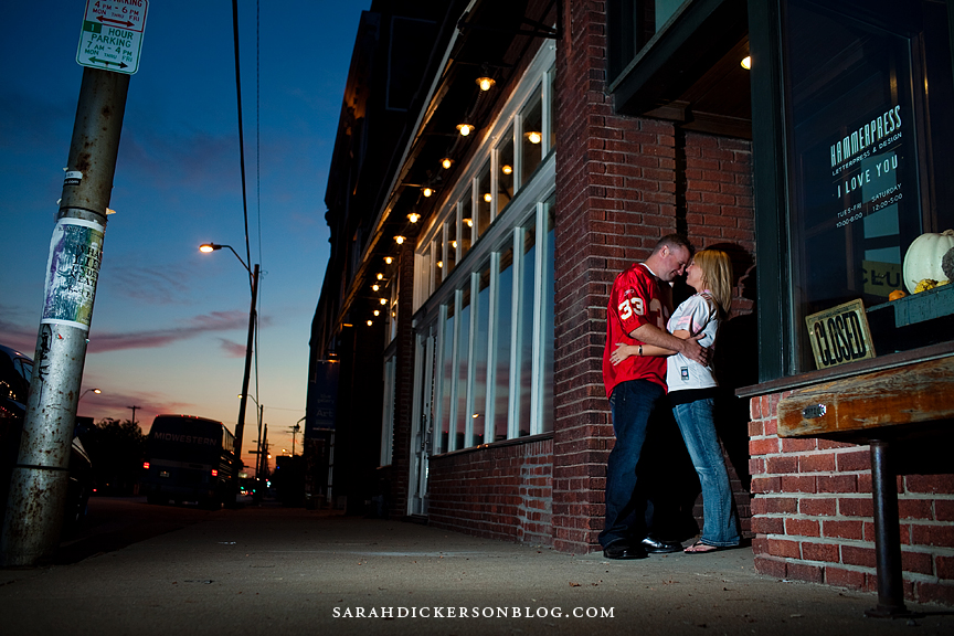 Crossroads Art District engagement session