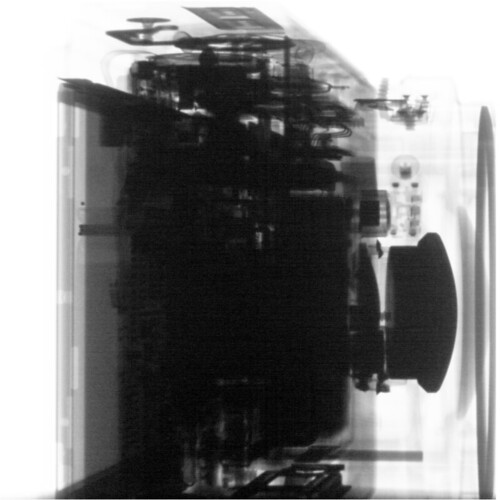 CT Scan of Digital Camera