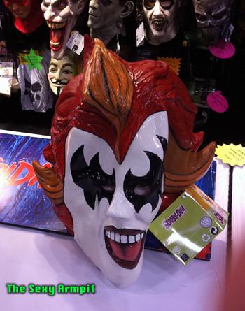 Diabolical Disc Demon Mask