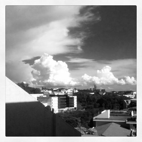 新加坡的云