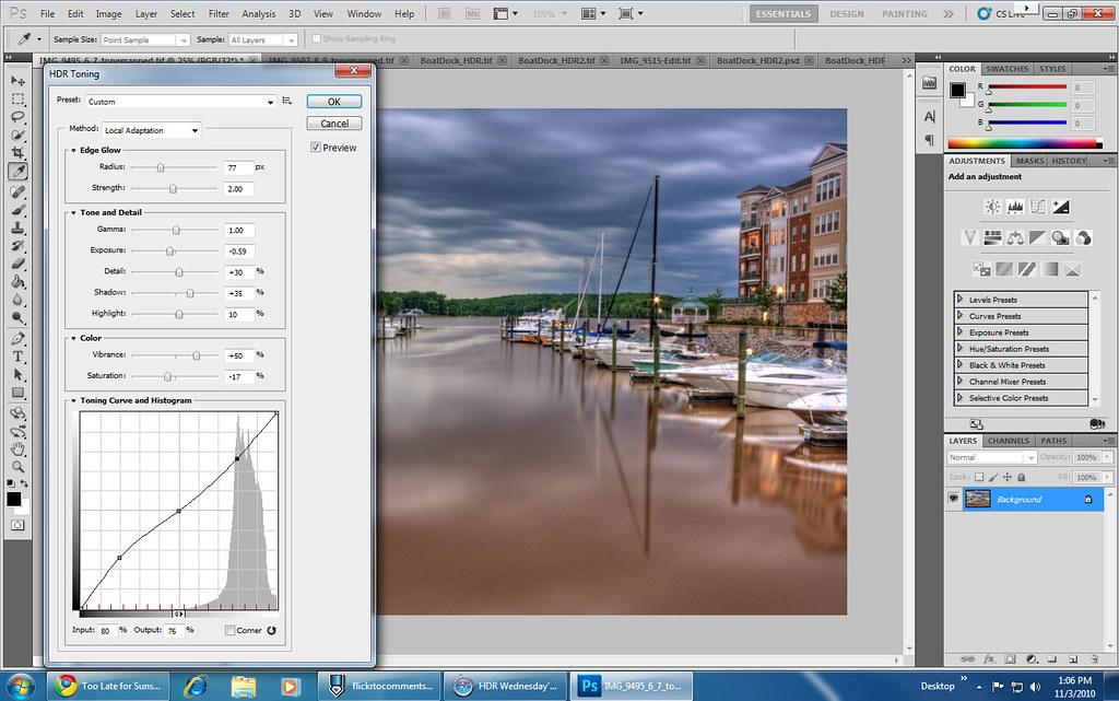 PhotoshopCS5HDRToning