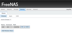 FreeNAS 0.8 pre-Beta Sharing Page