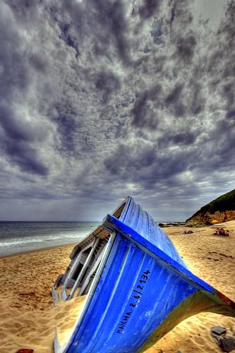 Patera en la Playa...