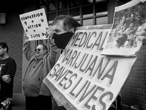 Medical Marijuana Protest