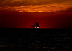 Last light of day... (Doug Langham) Tags: sunset clouds michigan lakemichigan redsky tallships sailingship southhaven welltaken nikond200 absolutemichigan beautifulcapture friendsgoodwill michiganmaritimemuseum amazingamateur globaltallships nkkor1820mmlens