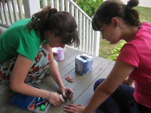 Manicure From Mollie to Tess