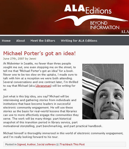 ALA Editions Book Deal Blog Post