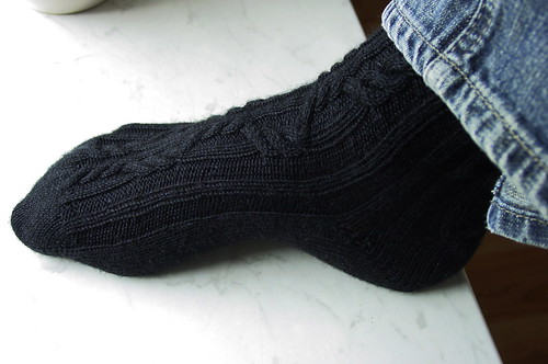 Boyfriend Socks - finally finished!