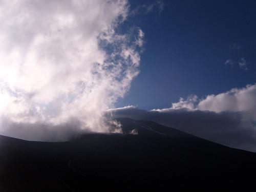 Fuji clouds