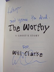 The Worthy signed by Clarke