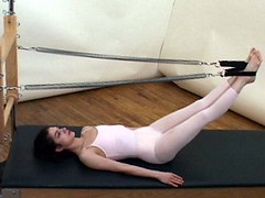 LEG SPRINGS (Movements Afoot) Tags: tower joseph cadillac mat posture fitness pilates wellness alignment abdominals reformer backcare